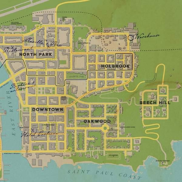 四海兄弟最终版地图改动一览