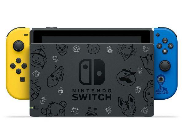 《堡垒之夜》特别版Nintendo Switch确认发售日