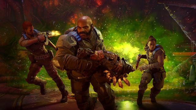 官方宣布《战争机器5》全新故事DLC将于12月上线