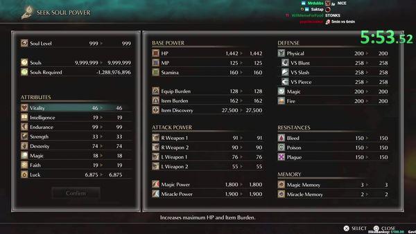 玩家利用两处BUG13分钟成功速通《恶魔之魂》