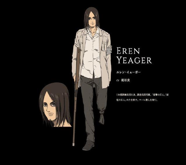 TV动画「进击的巨人 最终季」新视觉图及艾伦角色图公开-C3动漫网